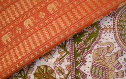 インド製生地の特徴とお取り扱い