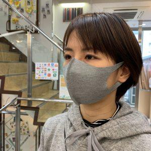 ニット 生地 マスク 作り方