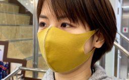 【無料型紙・レシピ付き】ゴム不要!簡単ニットマスクの作り方