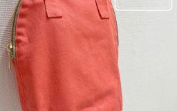【作例】パレットカラーハンプで作る楕円形バッグ