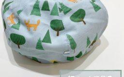【作例】細コールで作るキッズのベレー帽