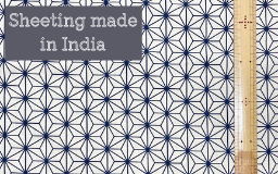 【新商品】インド製×日本伝統模様