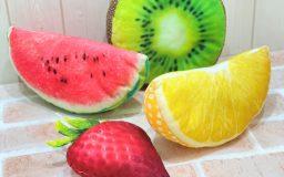 【作例】Real Fruits ミニクッション